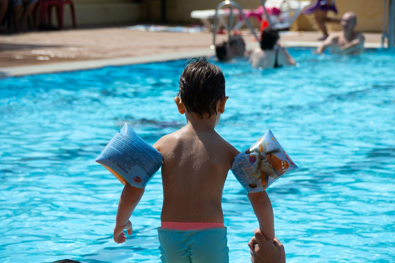 Les fotografies del dissabte a la piscina de Montflorit