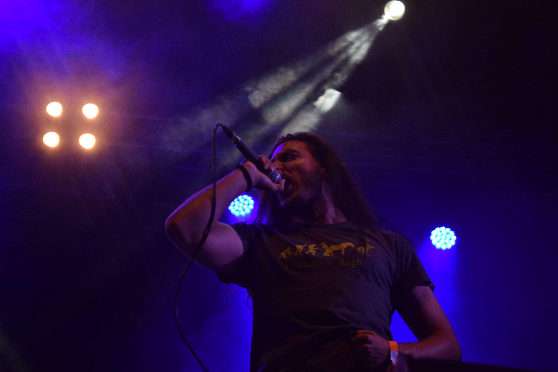 David Villar també va pujar a l'escenari per cantar amb Akantoide