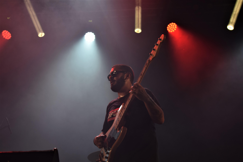 Aleix Monzó és un dels membres de Wild Mamas, grup de Rock and Roll de Ripollet