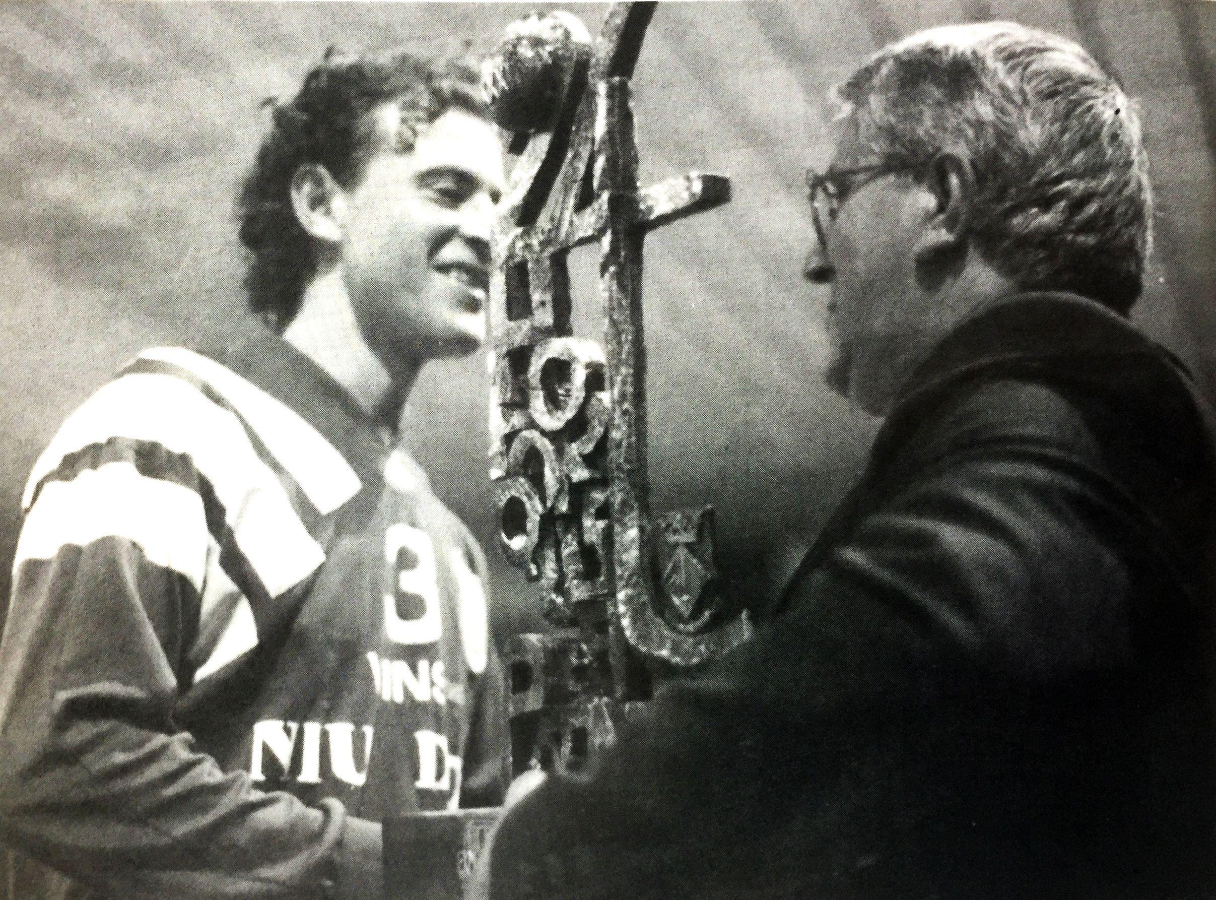 Entrega de trofeus de les 24 Hores d'hoquei patins l'any 1996