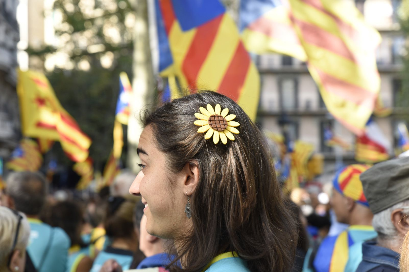 diada nacional catalana 11 setembre barcelona