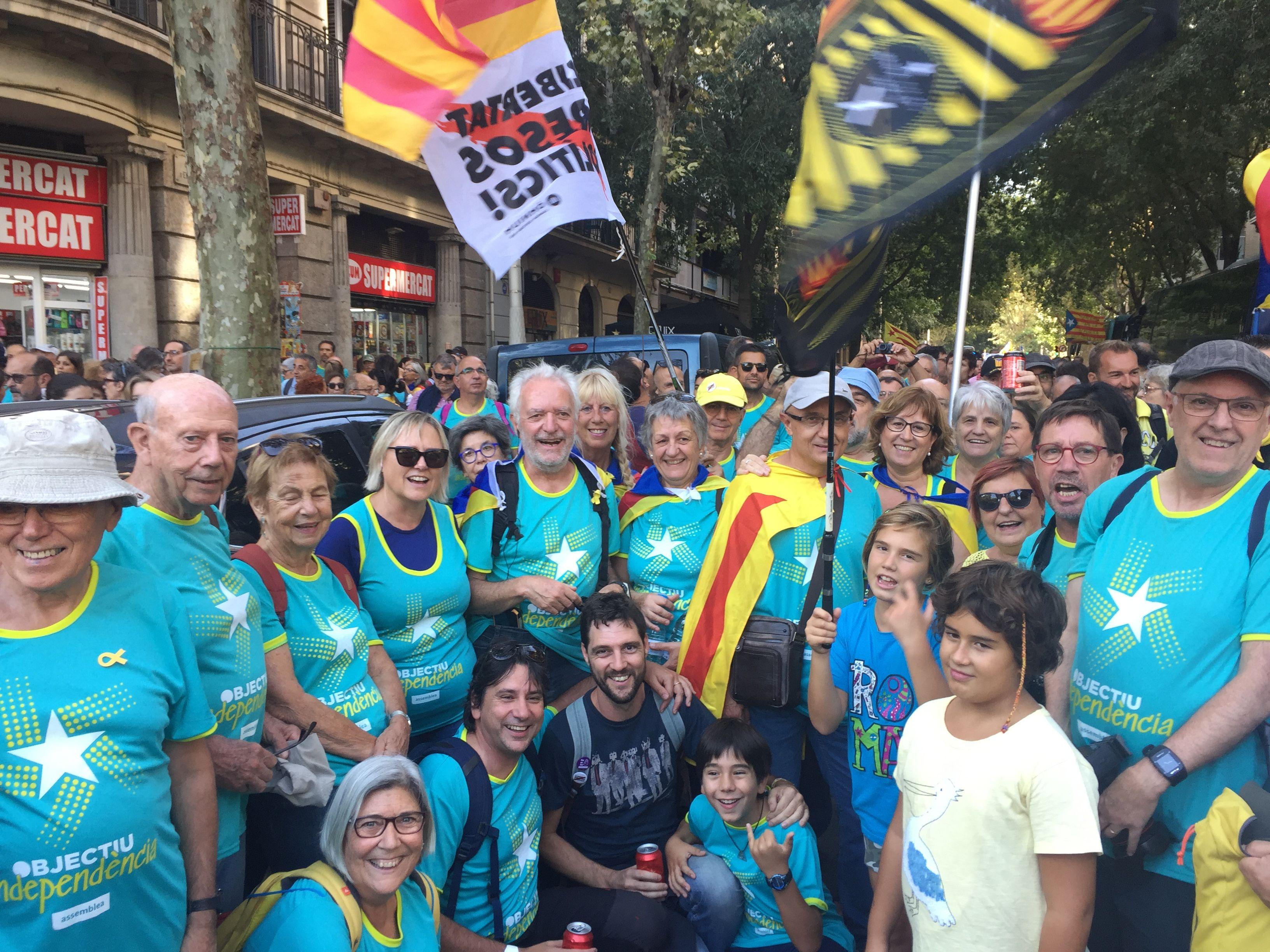 L'ANC de Cerdanyola a Barcelona