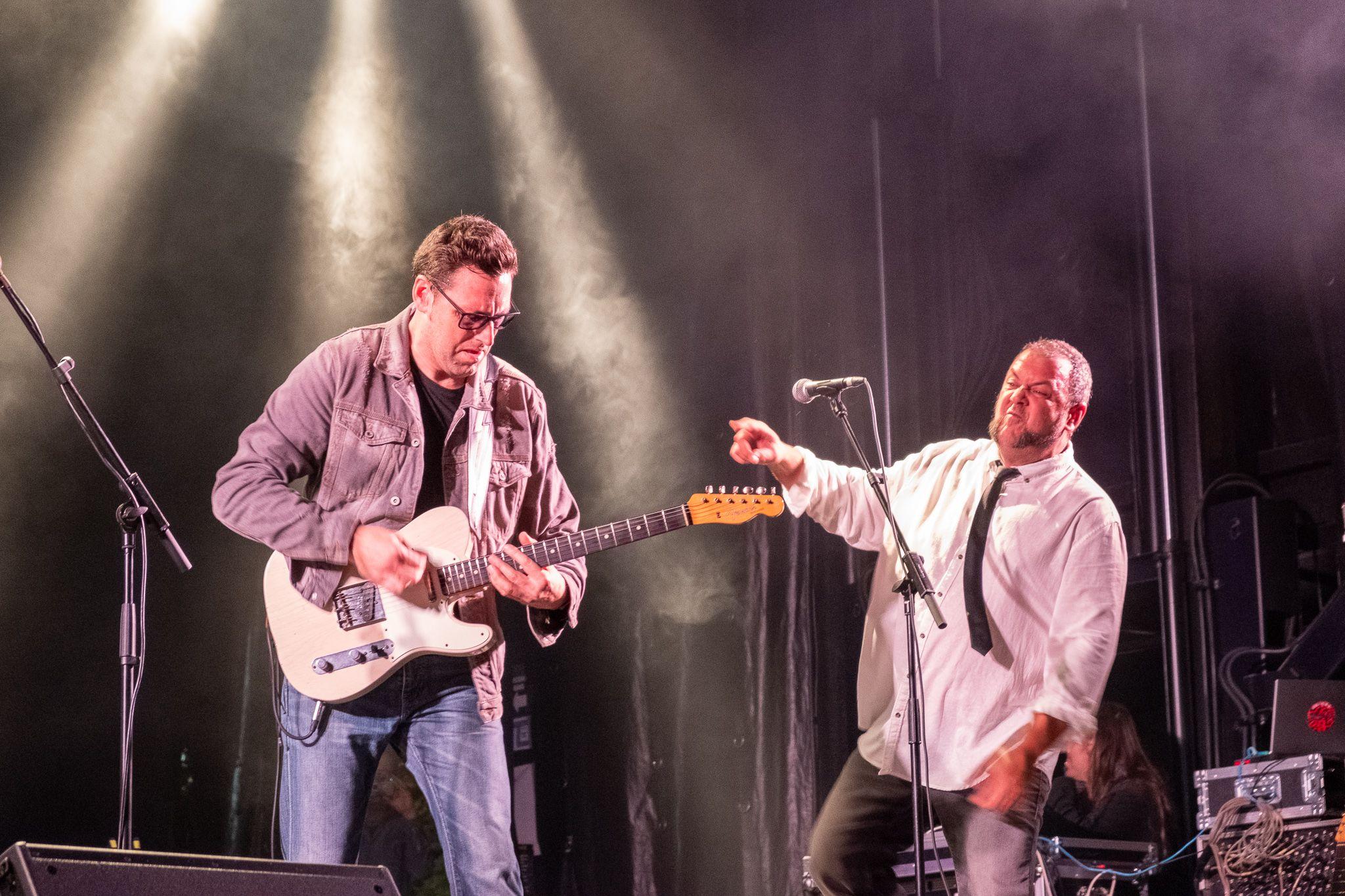 Sun Street Blues a l'escenari. FOTO: Ale Gómez