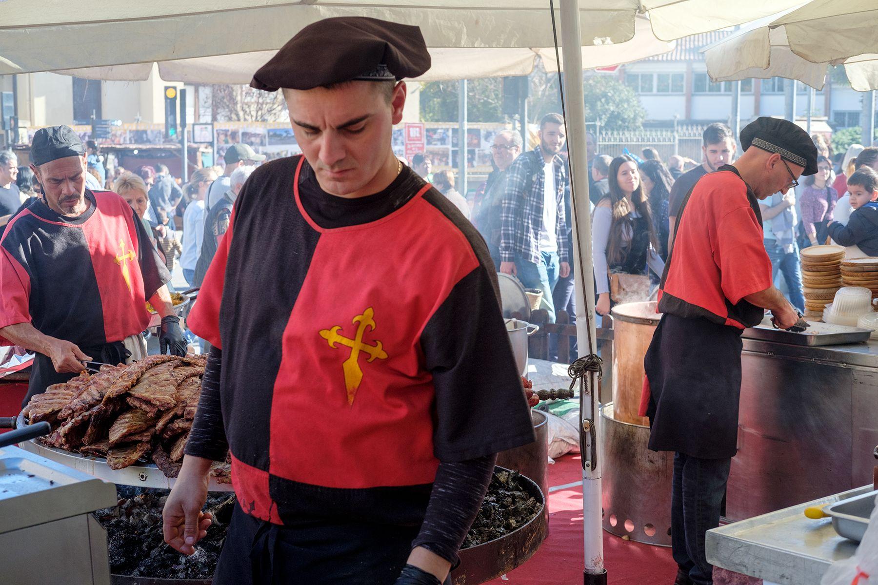 Mercat medieval. FOTO: Ale Gómez