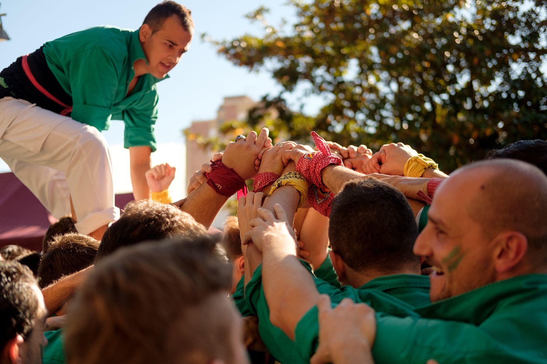Diada de Sant Martí amb els Castellers de Cerdanyola. FOTO: Ale Gómez