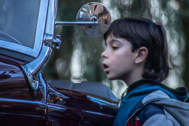 Cercavila de motos. Foto: Adrián Gómez