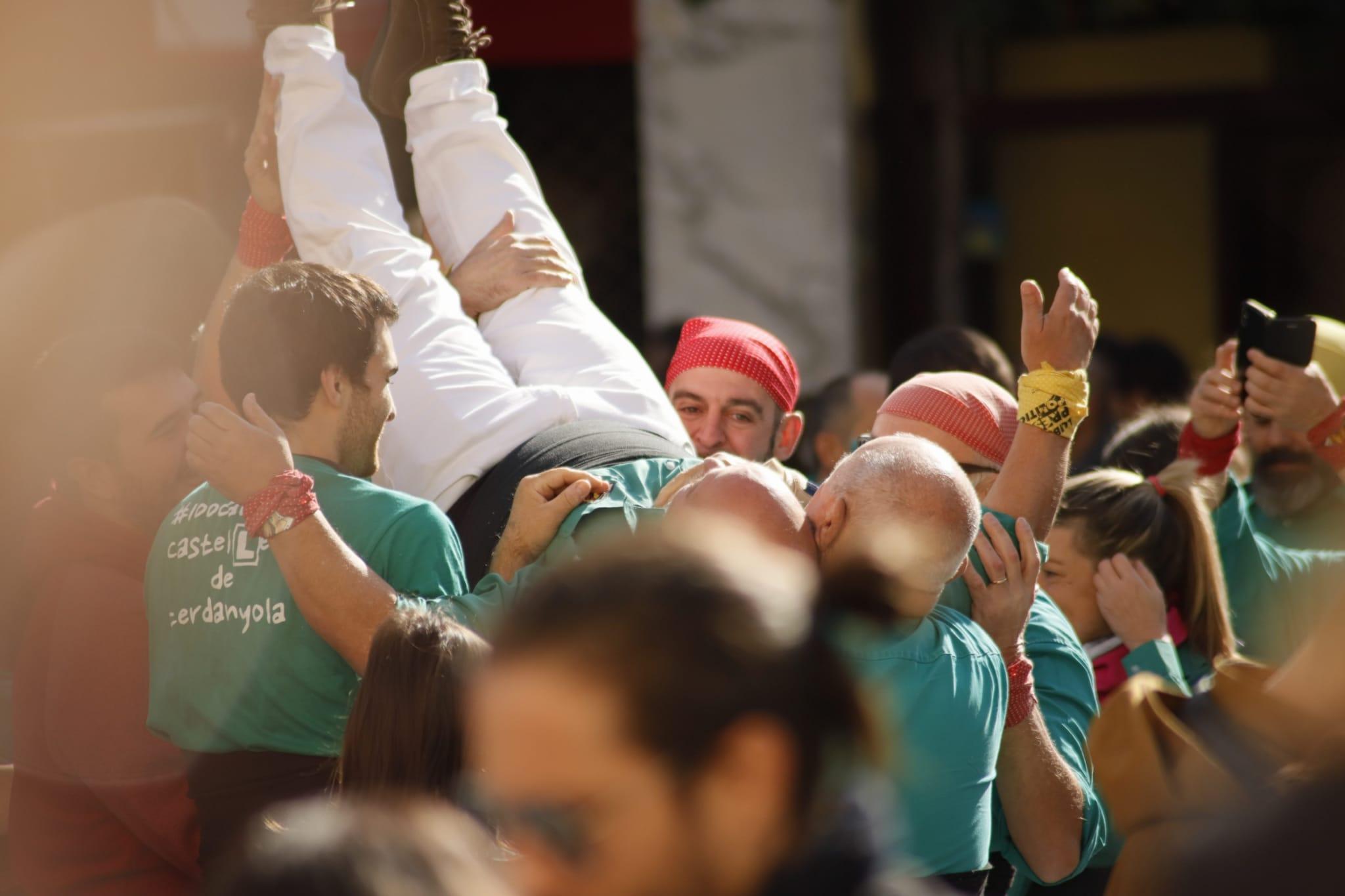 Diada de Sant Martí dels Castellers de Cerdanyola. FOTO: Adrián Gómez