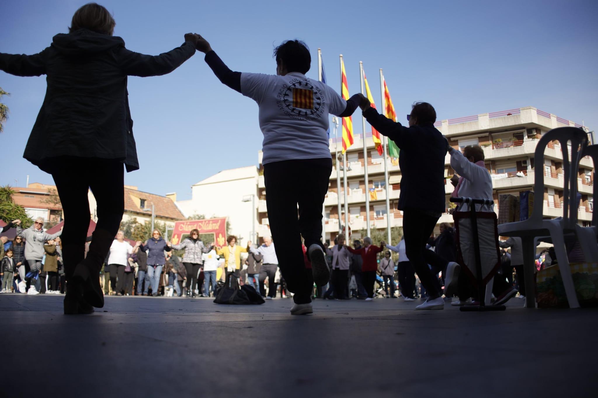Cercavila de cultura popular. FOTO: Adrián Gómez