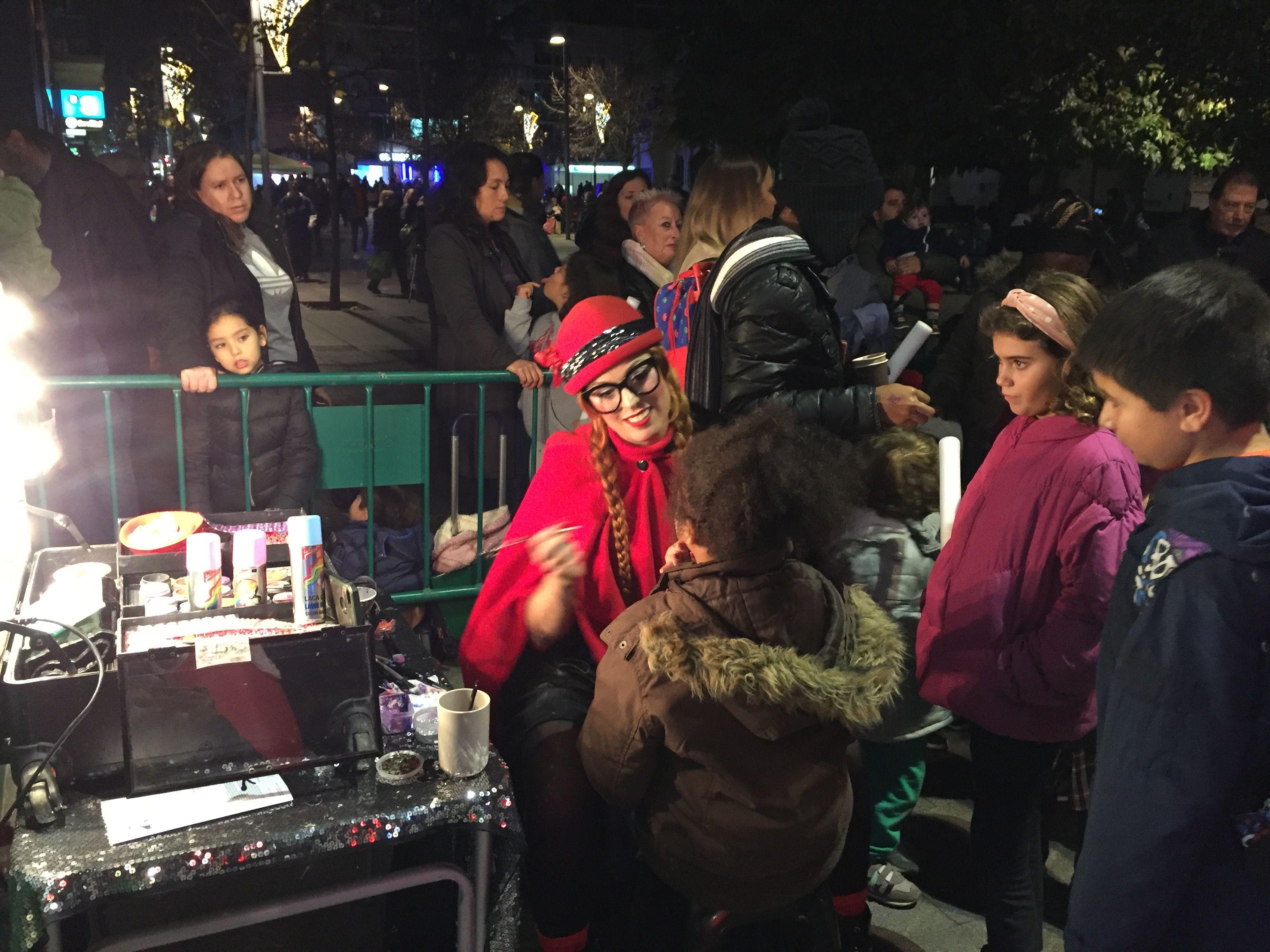 L'encesa dels llums de Nadal a la ciutat