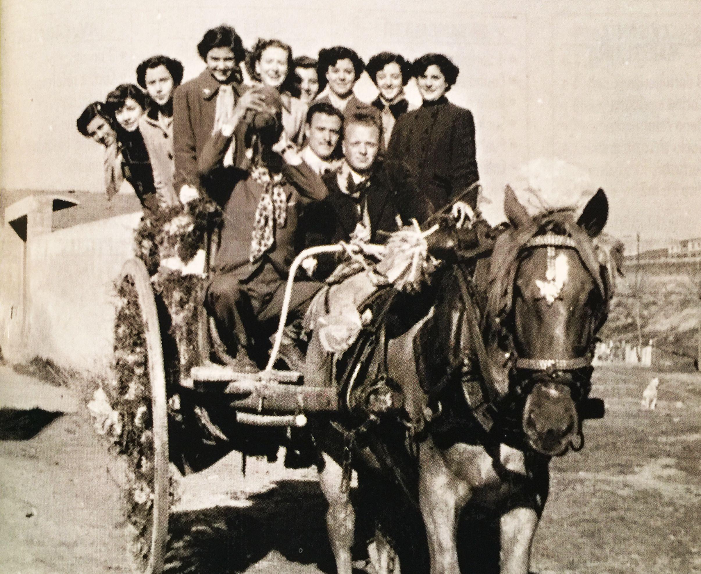 Festa de Sant Antoni Abat, als anys 40.  FOTO: Arxiu del TOT