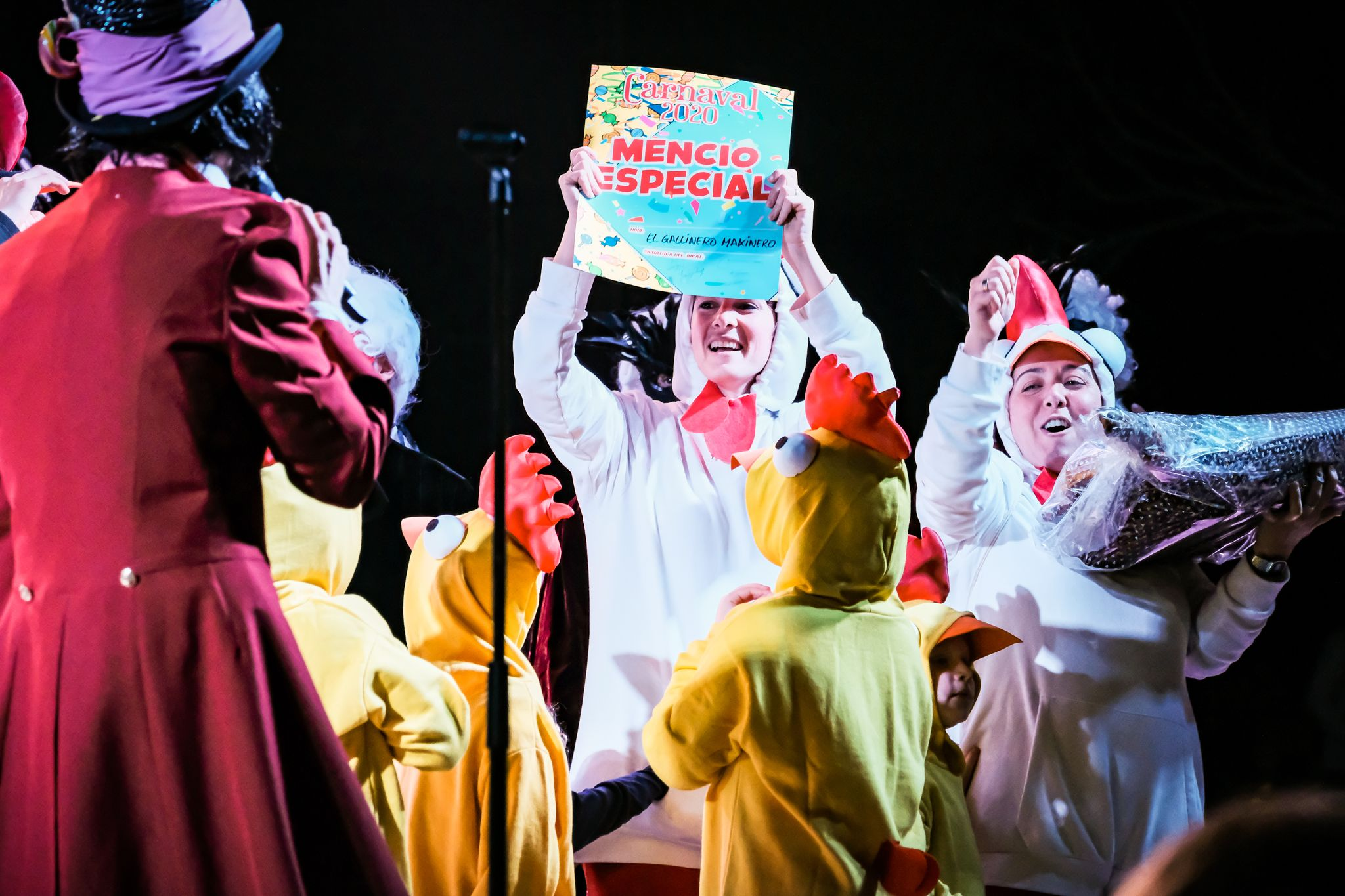 Entrega de premis de la Gran Rua de Carnaval. FOTO: Ale Gómez