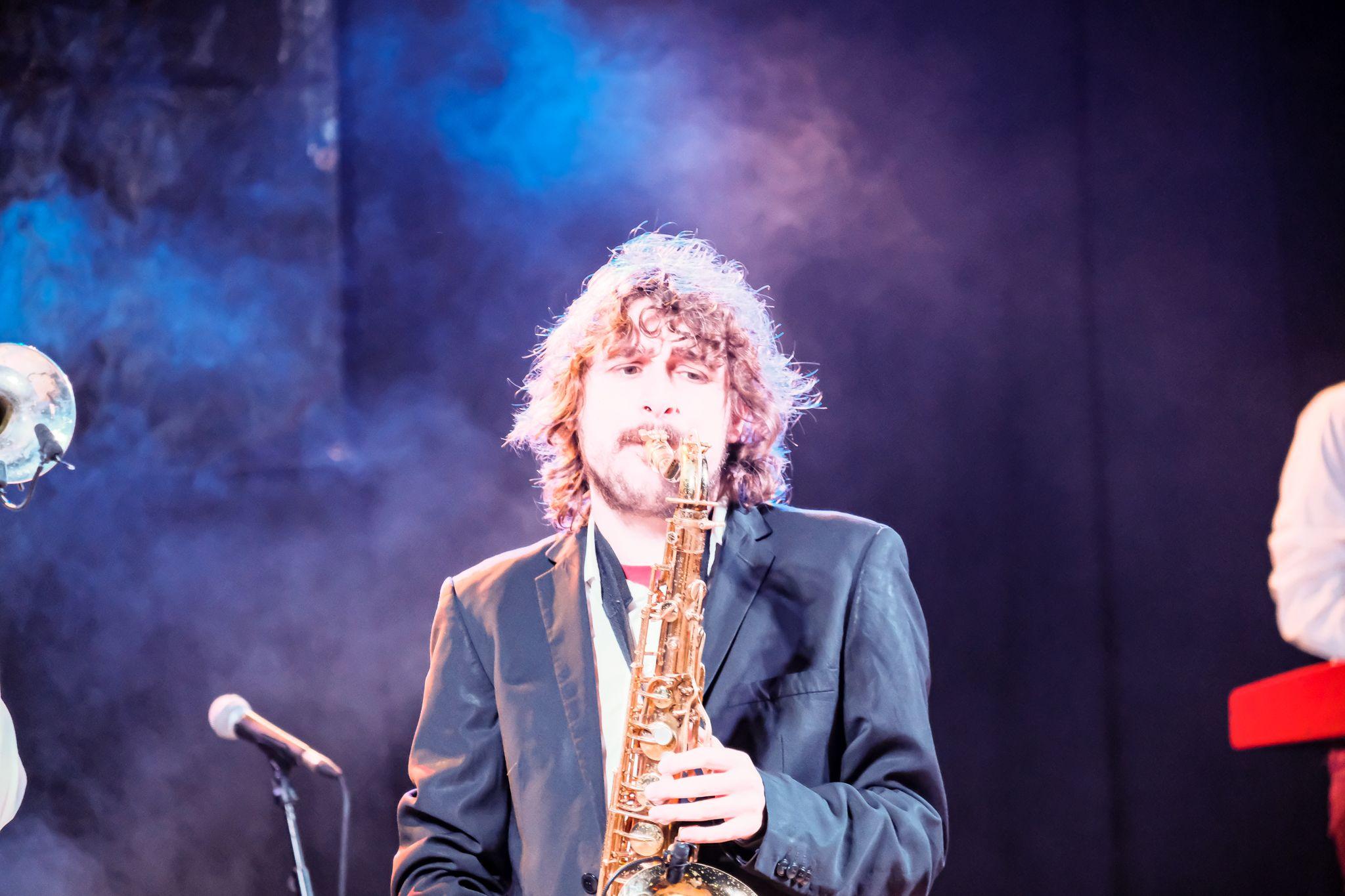 Concert de The Jukebox abans de l'entrega de premis. FOTO: Ale Gómez