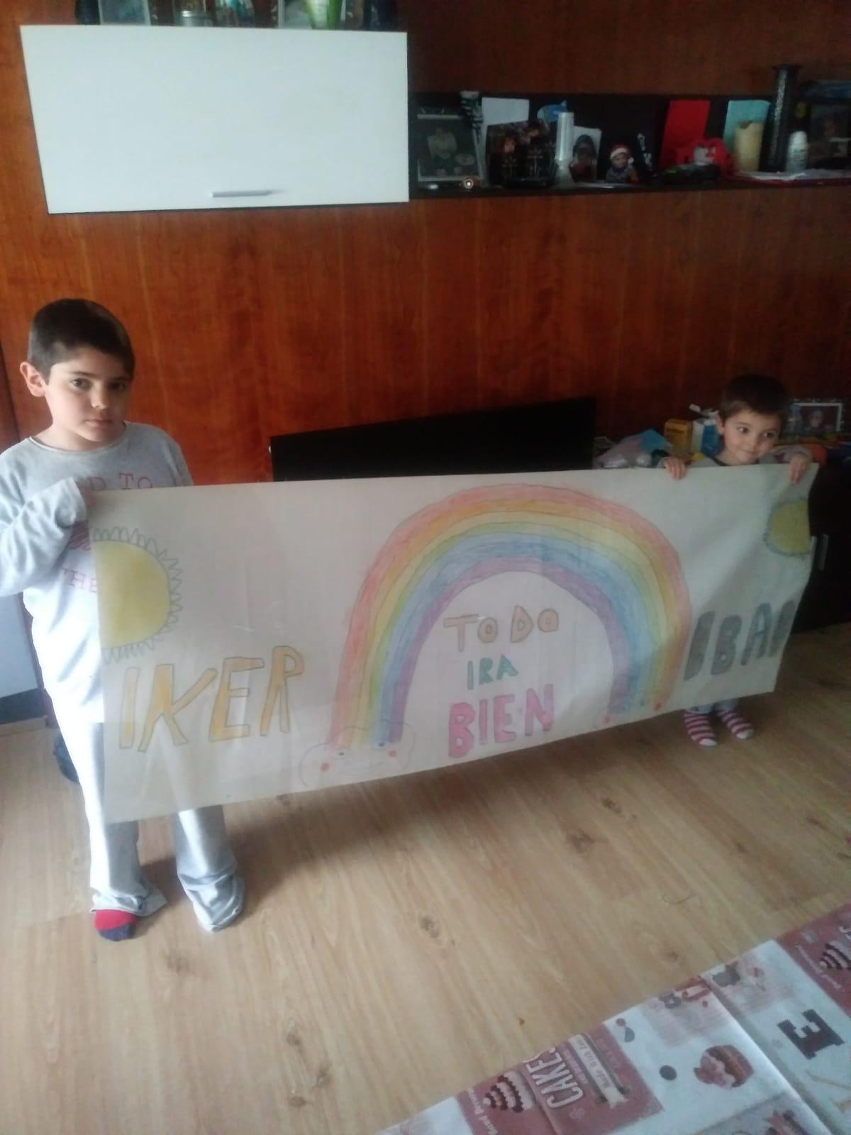 Iker i Ibai diuen que tot anirà bé