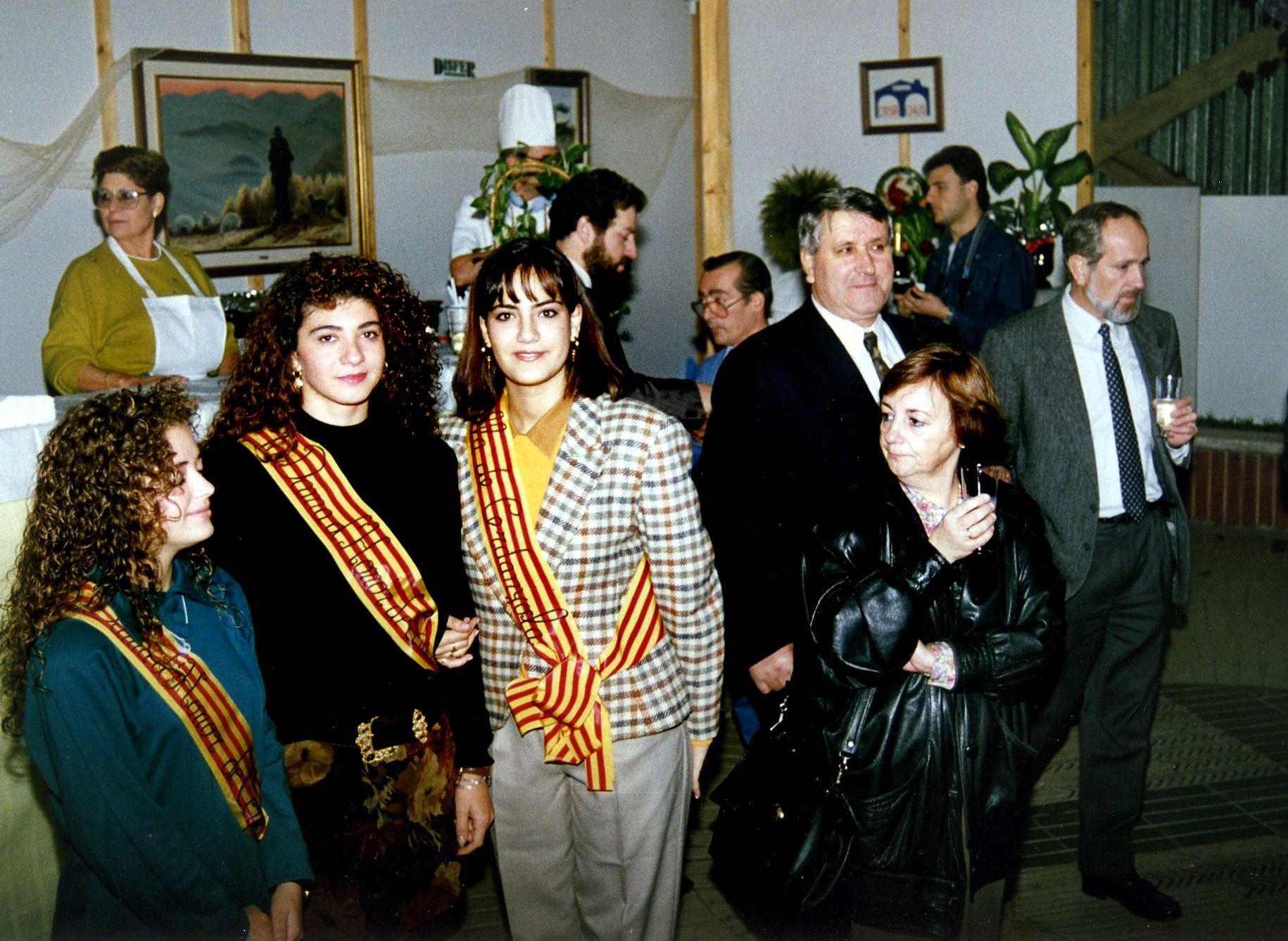 Autoritats i moments de festa l'any 1991. Autor: Pepe Urbano