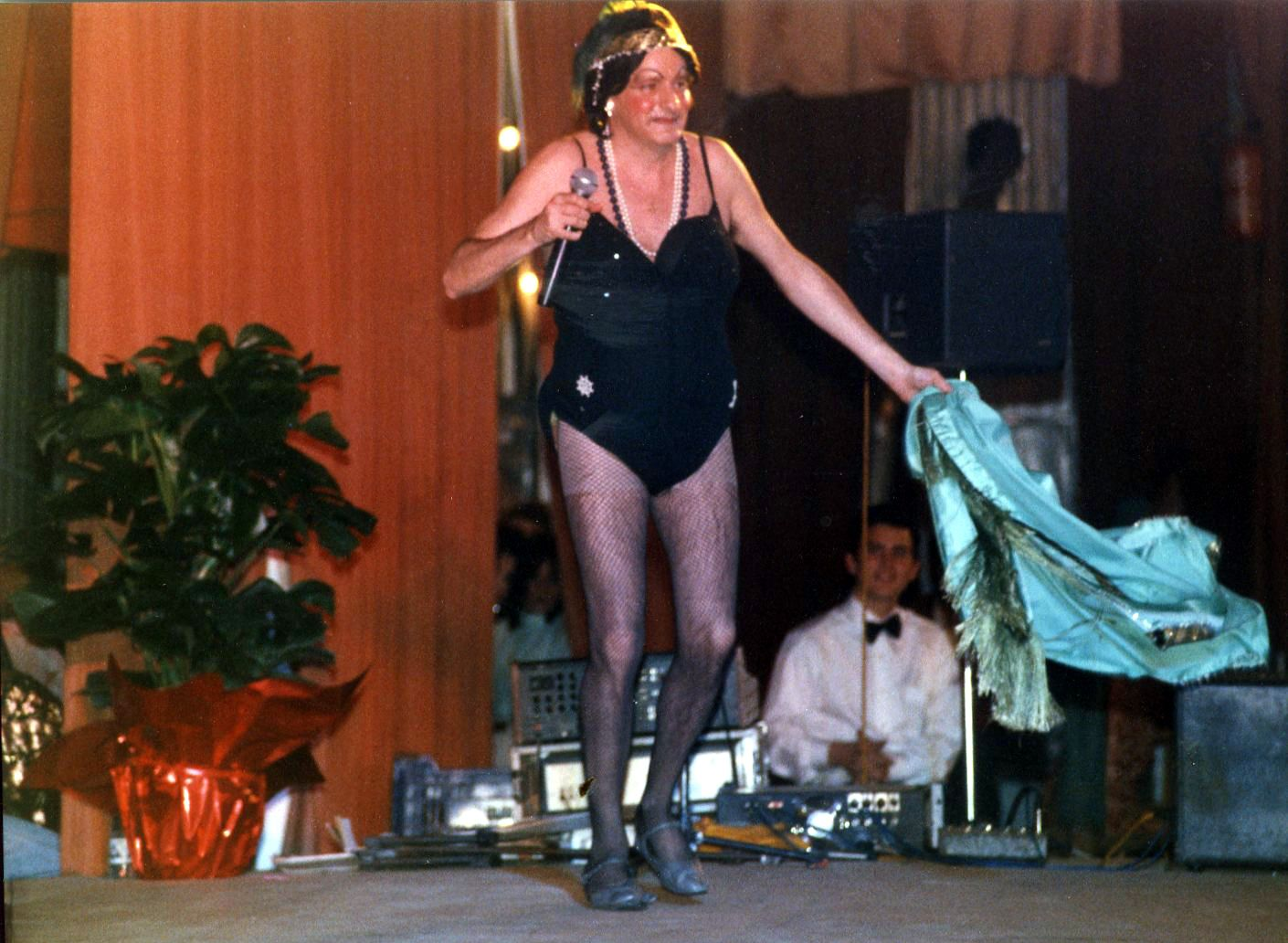 Una actuació a l'envelat l'any 1989. Autor: Pepe Urbano