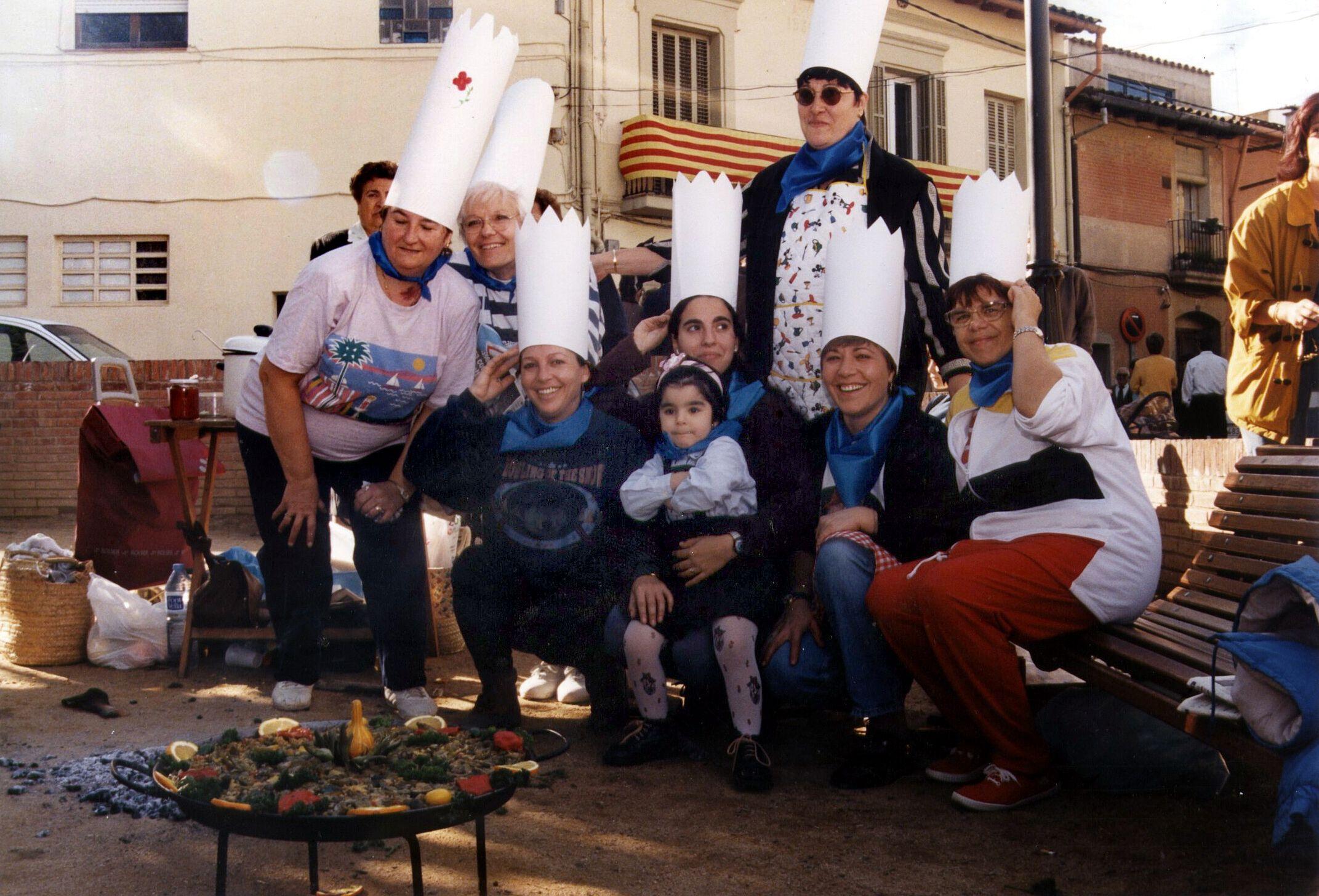Concurs de paelles a la plaça Grau i Altayó. Autor: Pepe Urbano