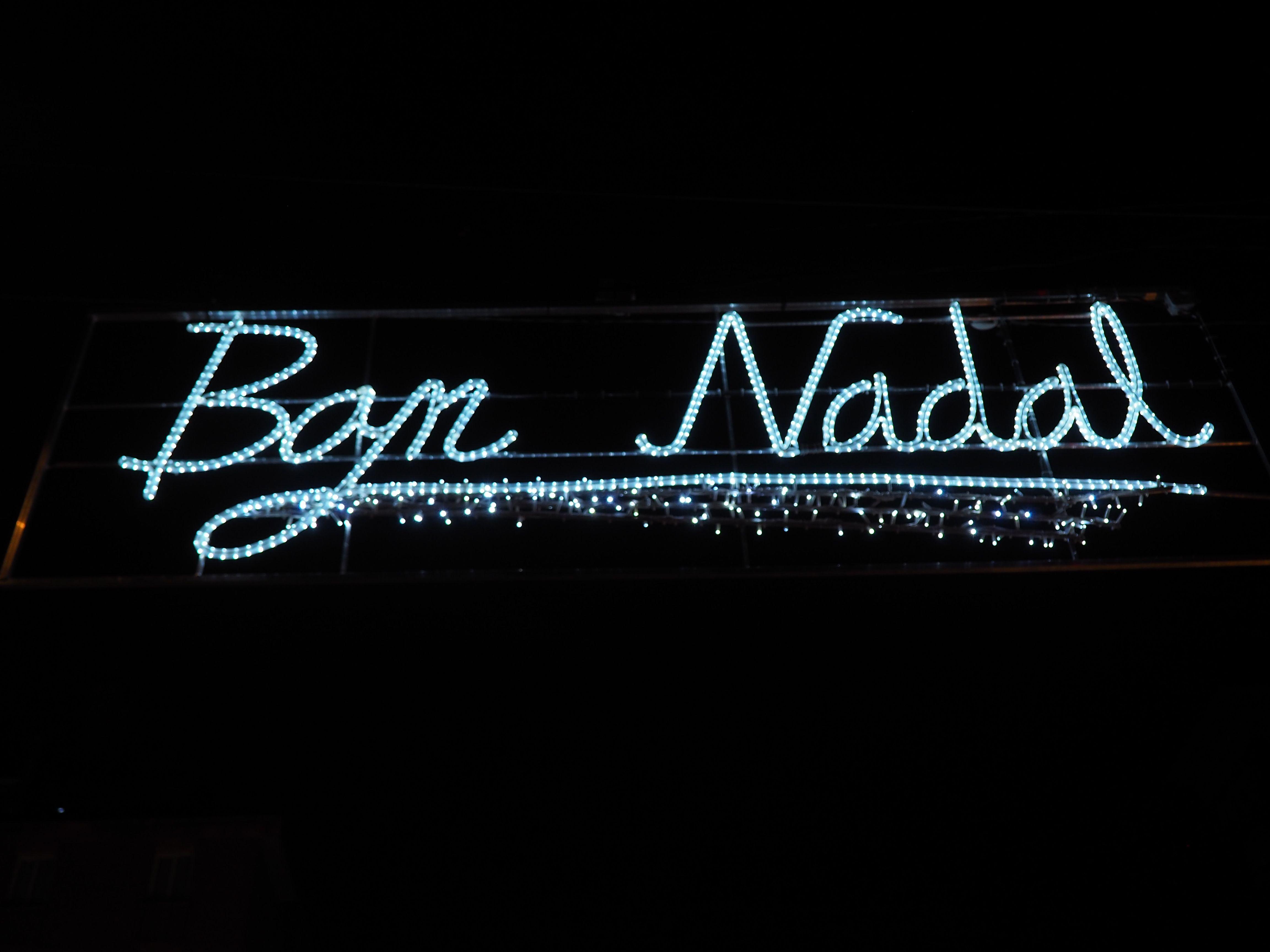 Encesa dels llums de Nadal a Cerdanyola. FOTO: Mónica GM