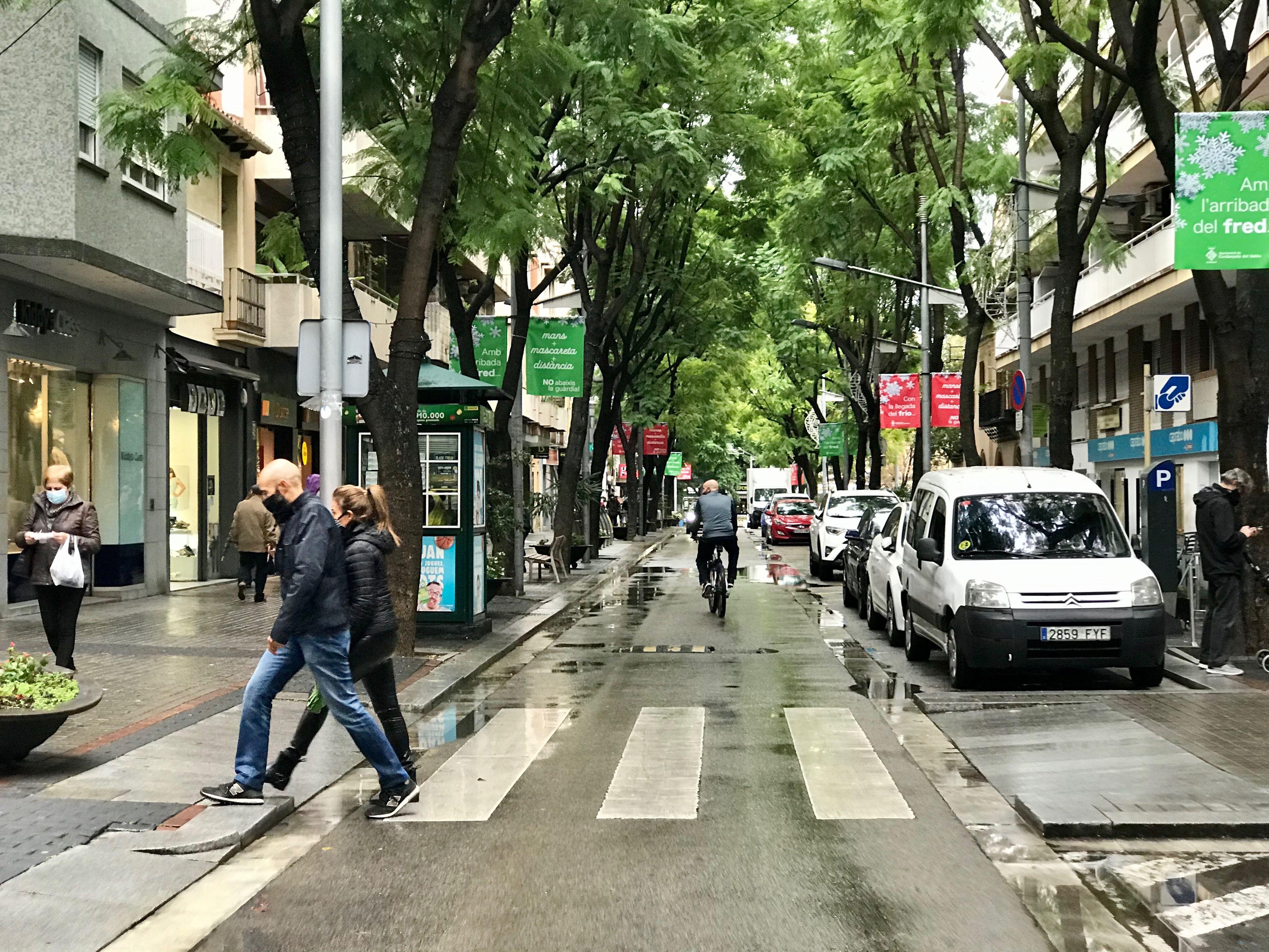 La detenció es va fer a l'Avinguda Catalunya. FOTO: Arxiu