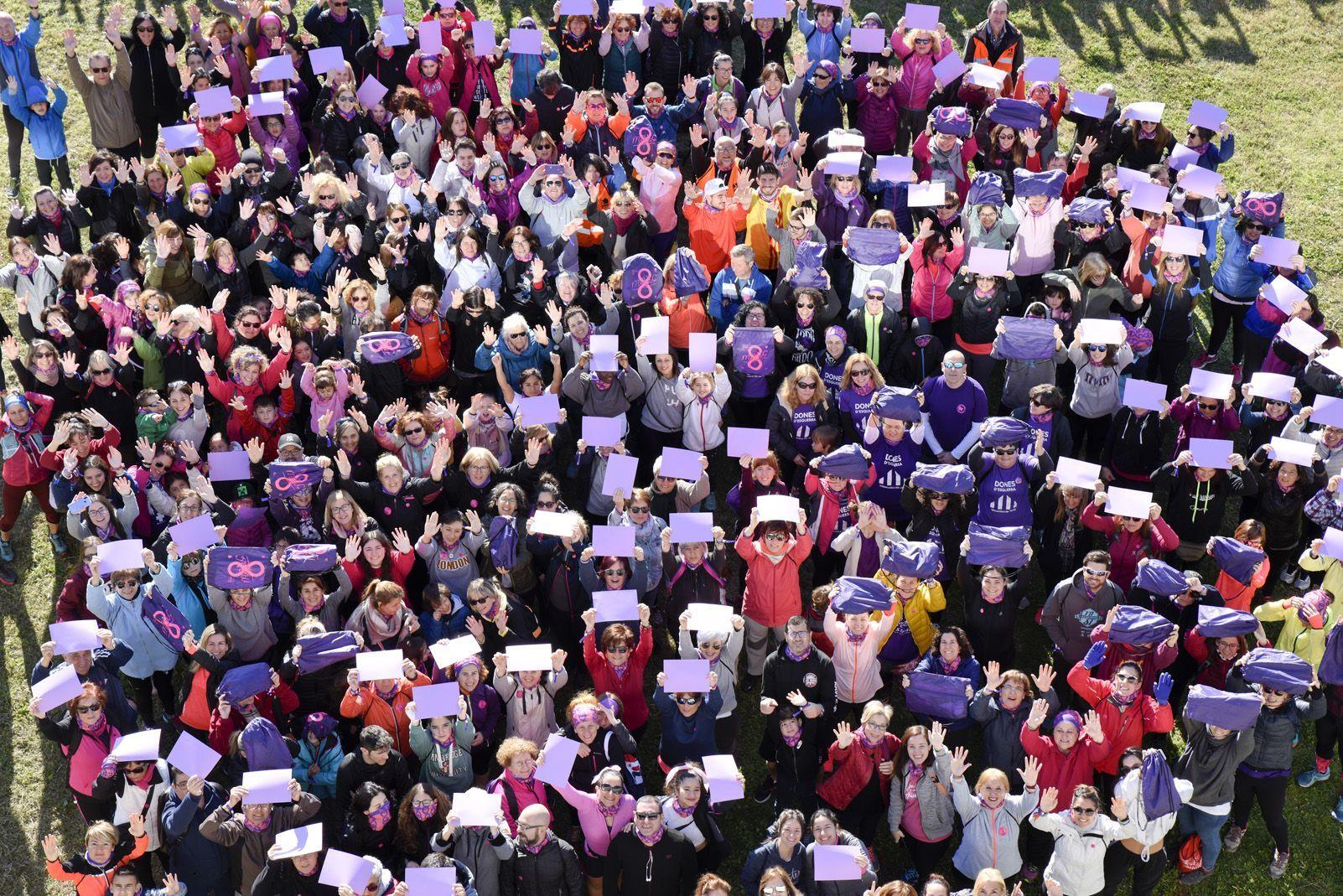 La cursa feminista d'enguany serà virtual. FOTO: Bernat Millet