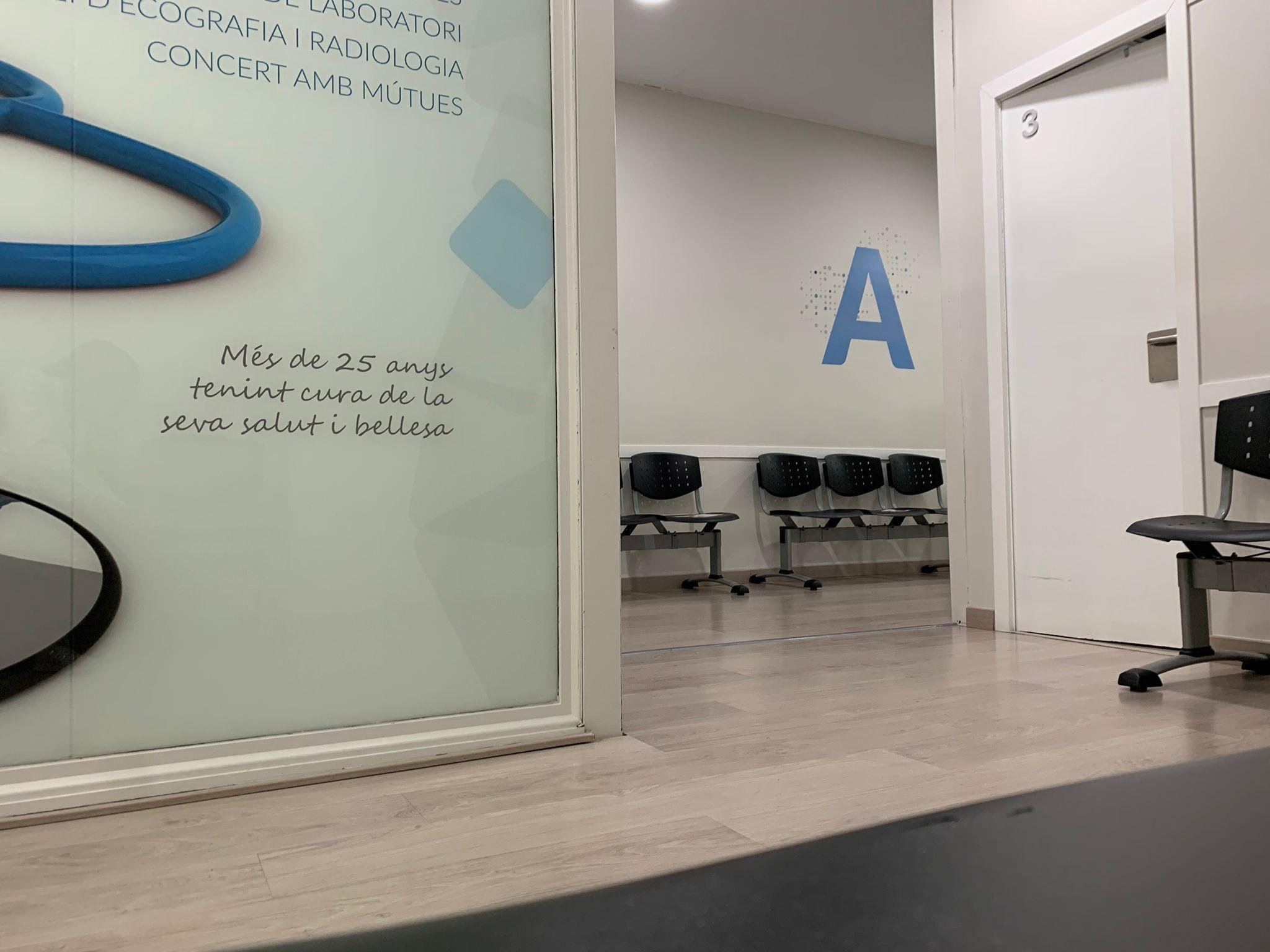 Sala A del Policlínic Cerdanyola. FOTO: Cedida