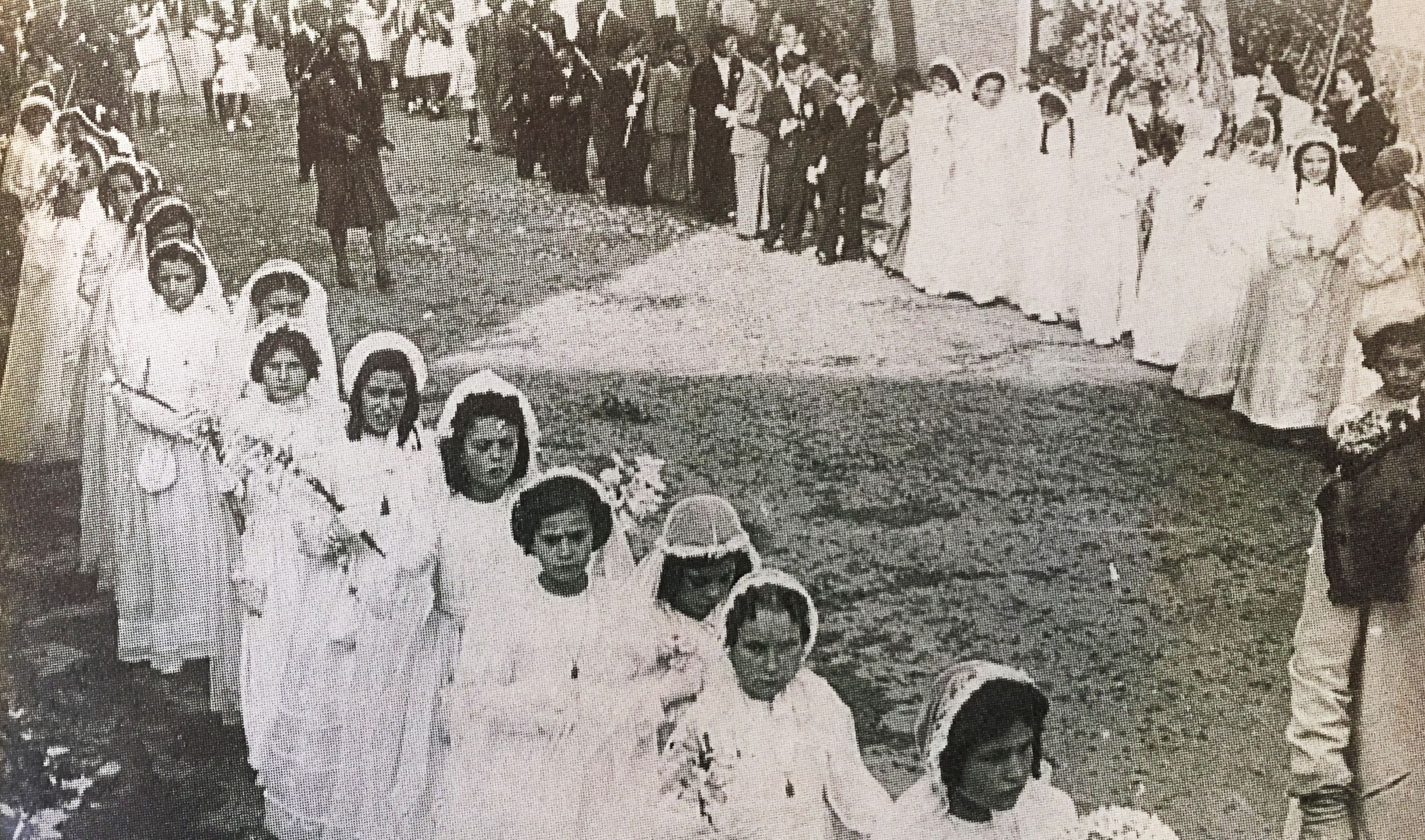 Celebració del Corpus Christi a Cerdanyola. Imatge publicada al TOT Cerdanyola 367