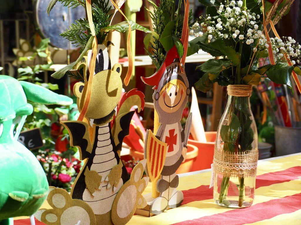 Sant Jordi 2021 a Cerdanyola. FOTO: Mónica García Moreno
