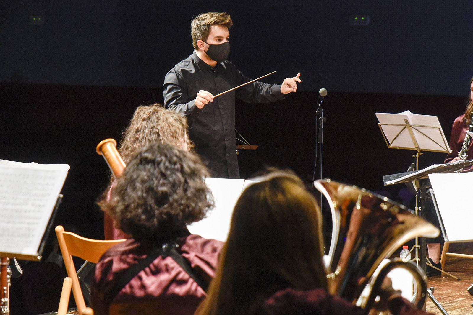 Concert Agrupació musical. Foto: Bernat Millet.