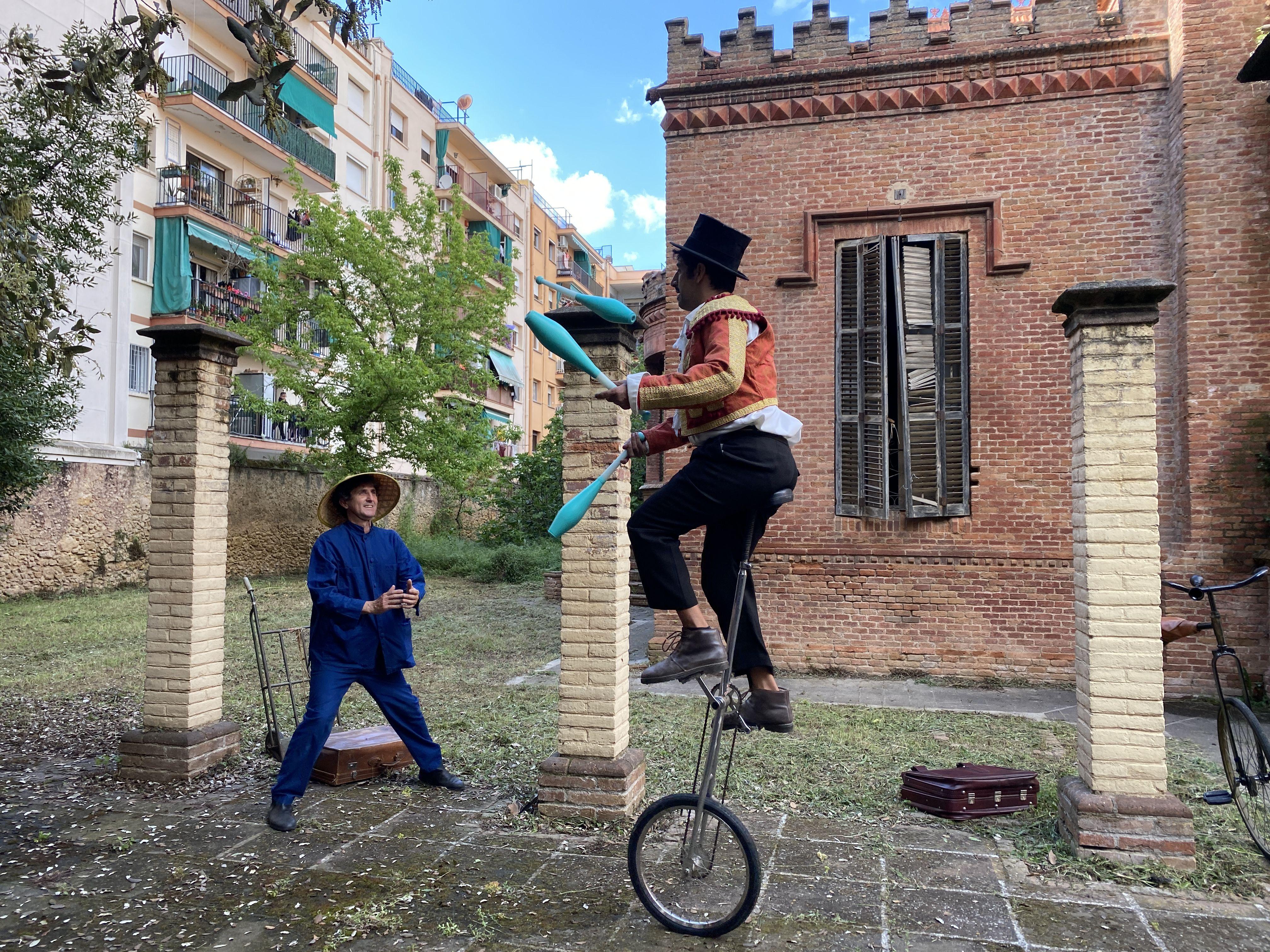 Visita teatralitzada a la Torre Vermella / FOTO: Laura Arias