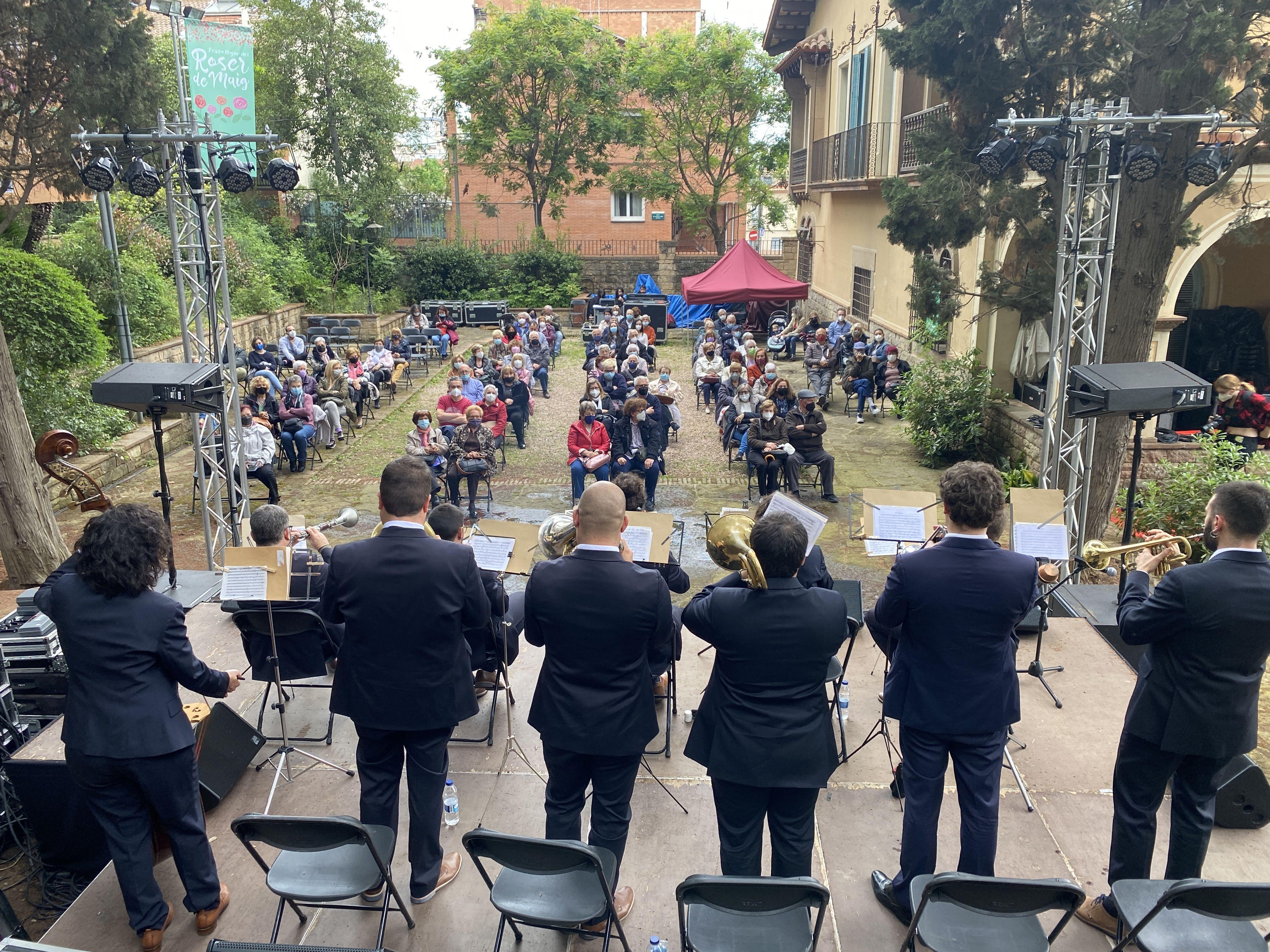 Concert de l'Agrupació Cultural Sardanista / FOTO: Laura Arias