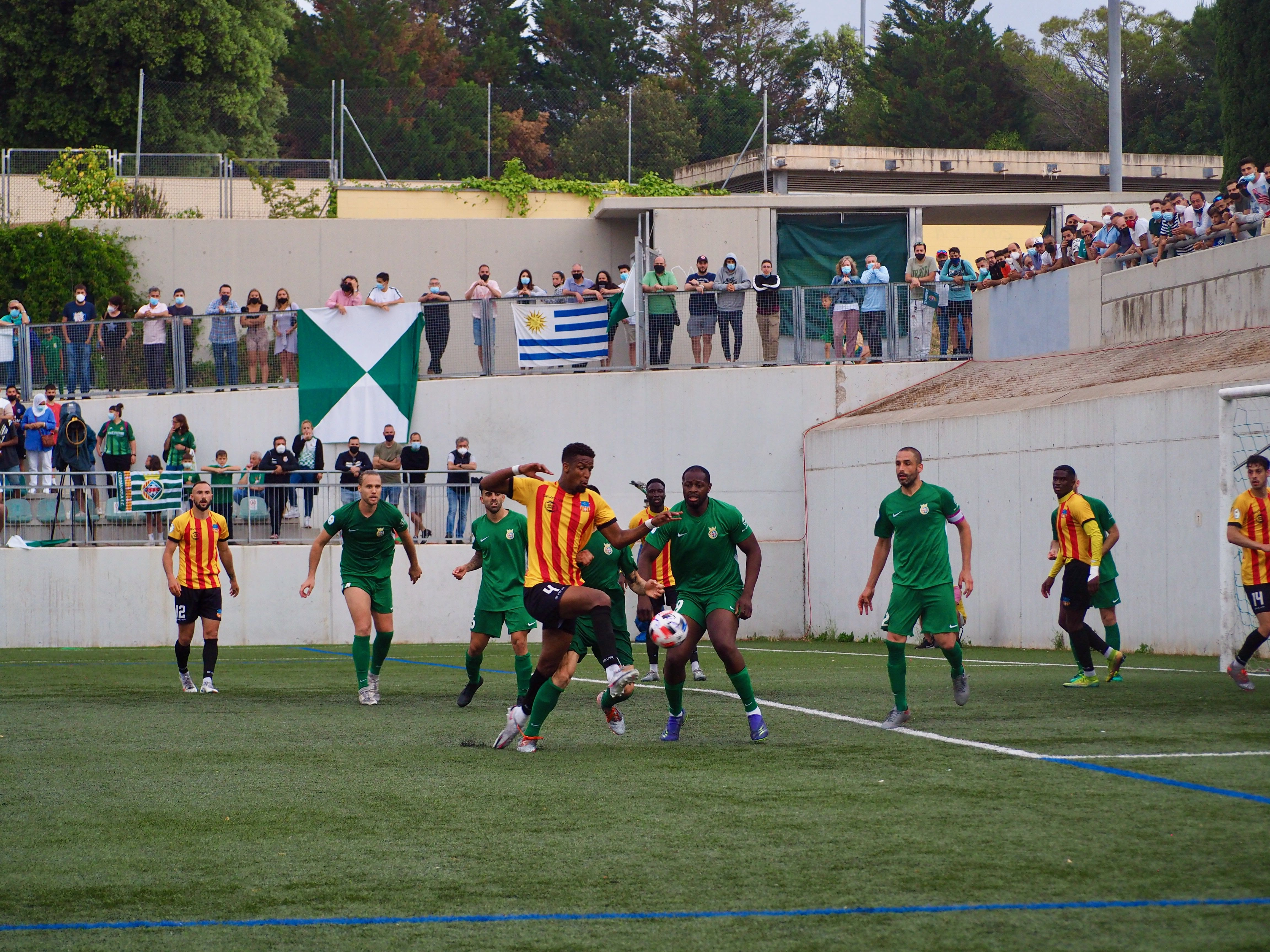 El Cerdanyola FC ascendeix a 2a RFEF. FOTO: Mónica García
