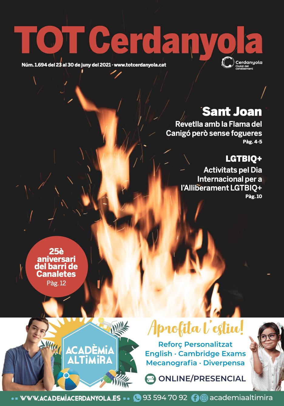 La portada del TOT 1695
