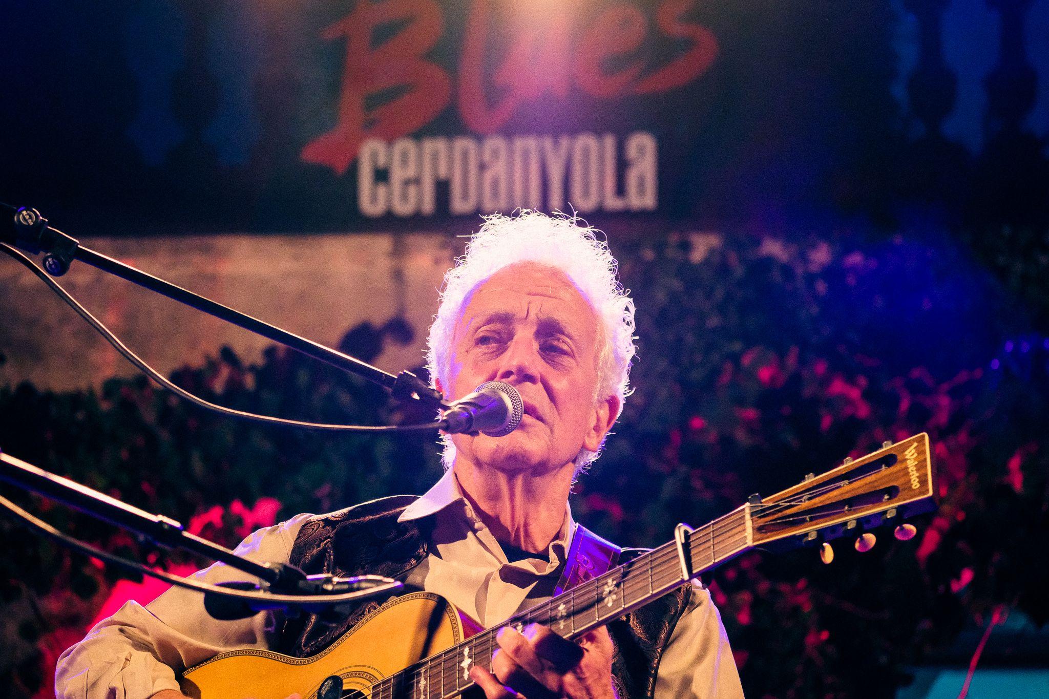 Concert de Doug MacLeod la primera nit de Blues. FOTO: Ale Gómez