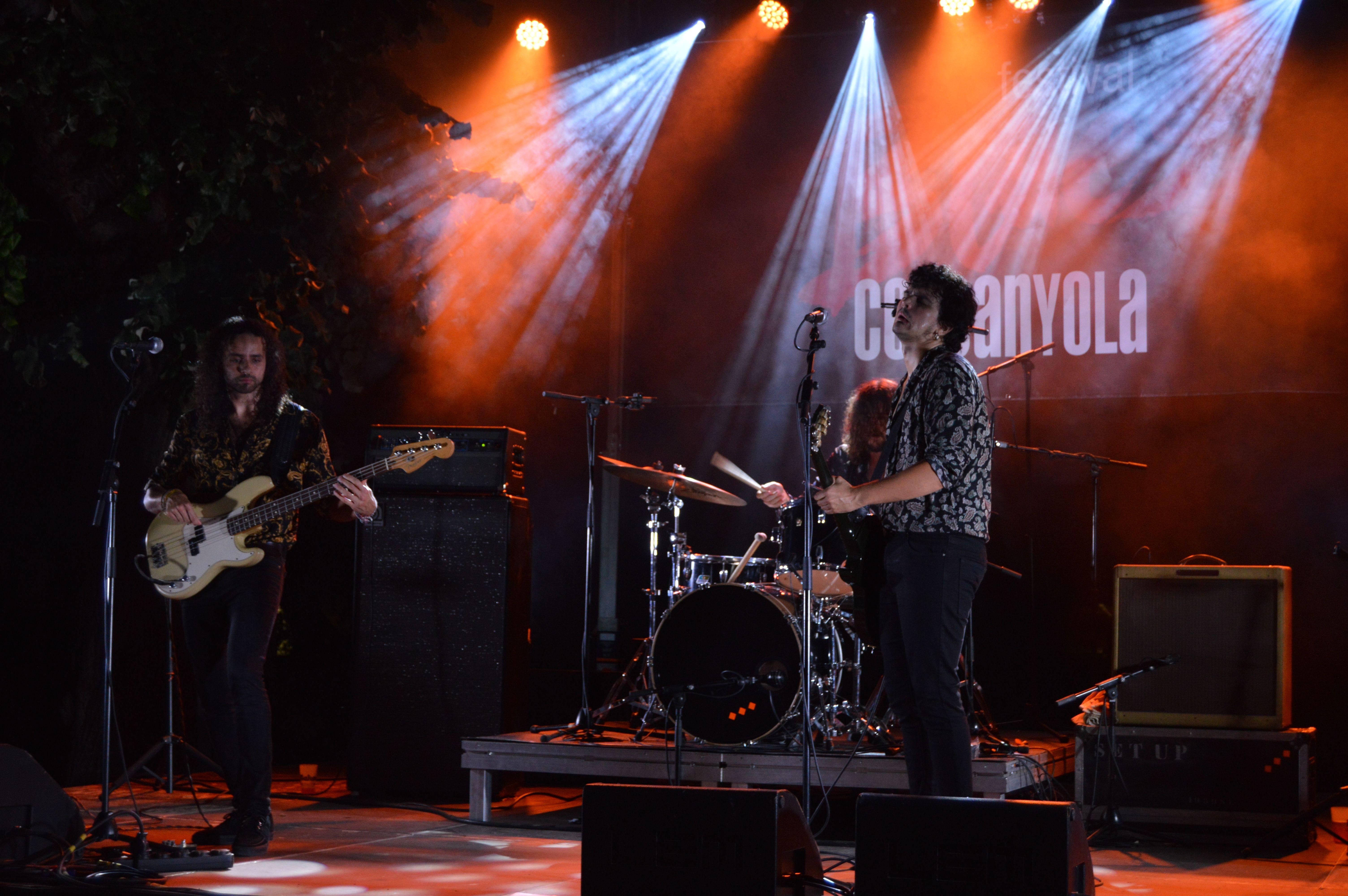 Concert de Zalomon Grass la nit de dissabte a Can Fatjó. FOTO: Nora Muñoz