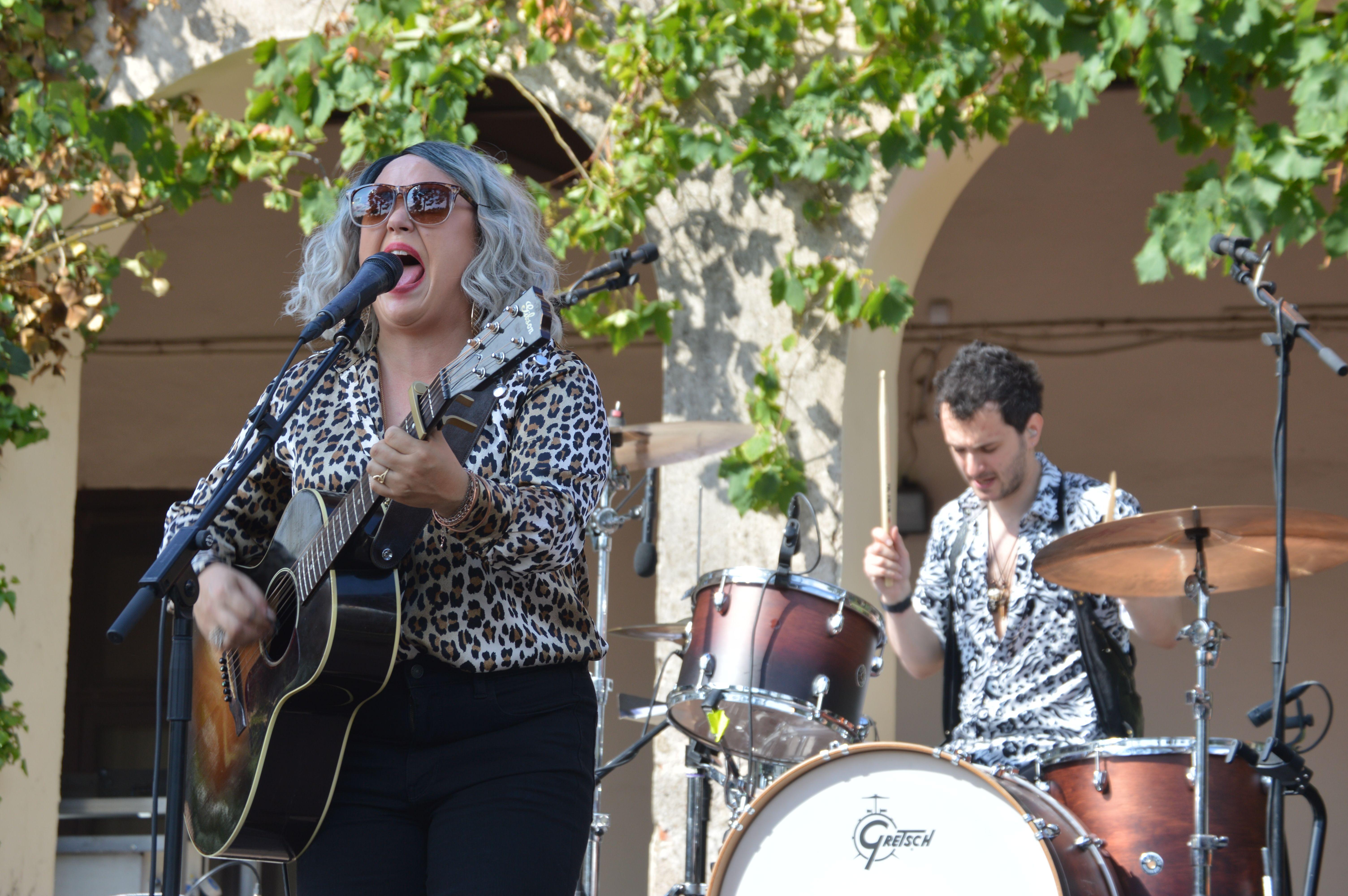 Concert de Samantha Martin & Delta Sugar dissabte a Can Cordelles. FOTO, Nora Muñoz