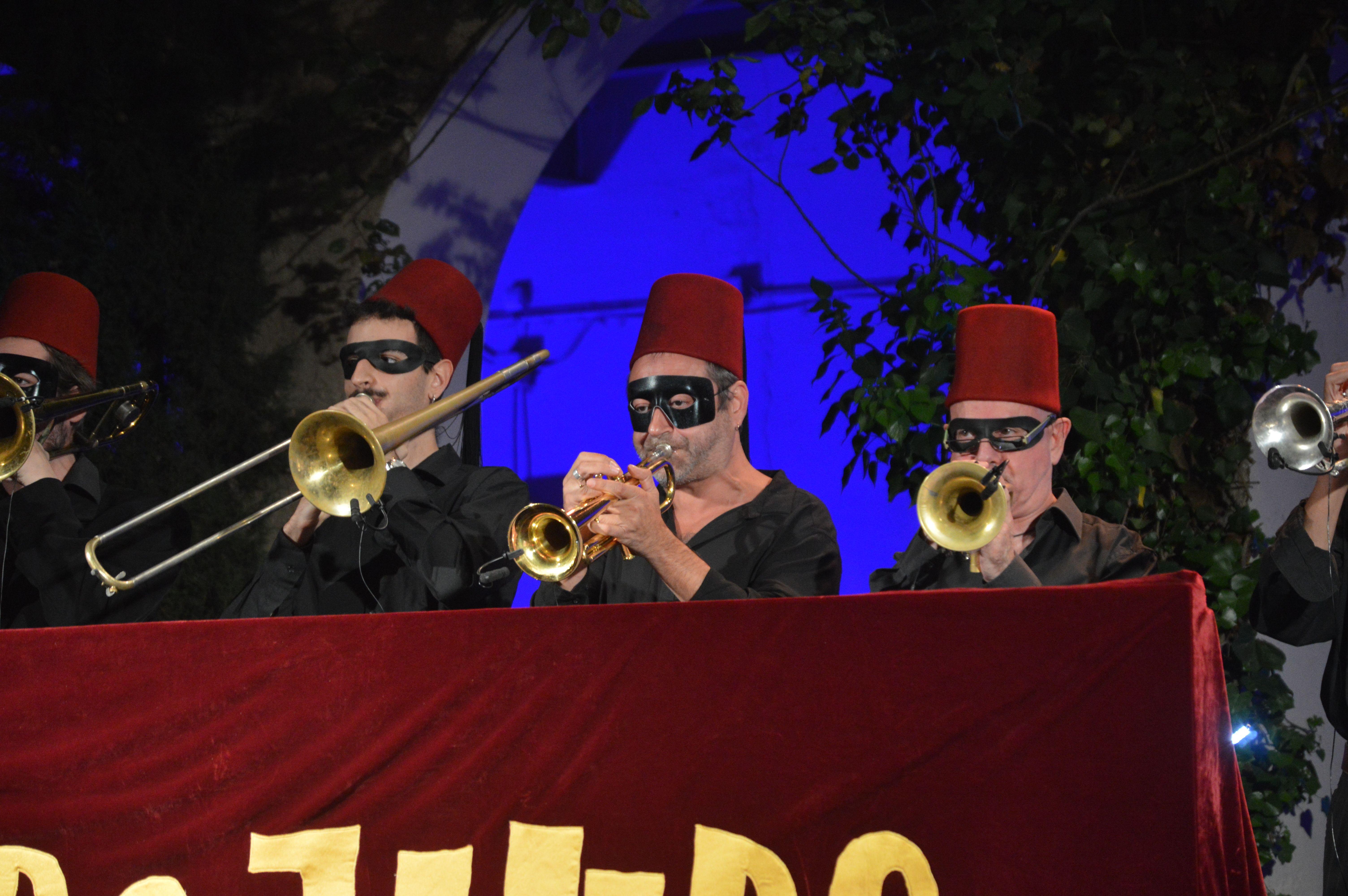 Concert de cloenda del festival diumenge a la nit amb Mambo Jambo Arkestra. FOTO, Nora Muñoz